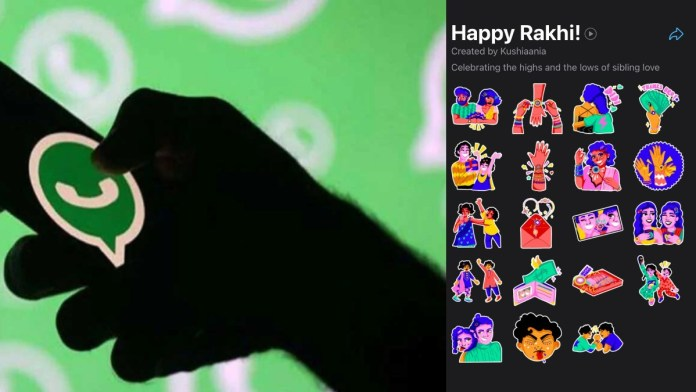 WhatsApp adds Happy Rakhi sticker pack for users in India: How to download and send