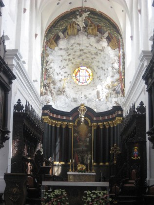 Heaven and Earth inside Oliwa Cathedral