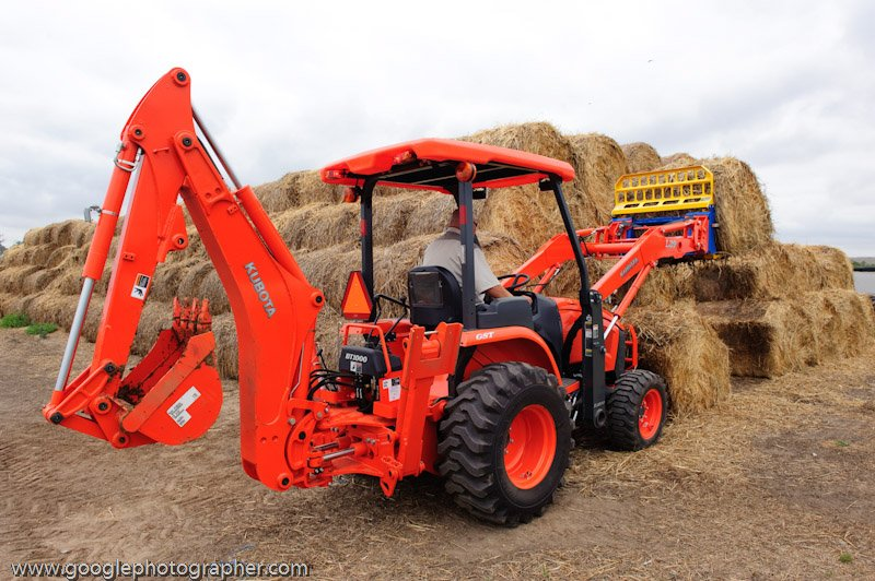 Kubota Haystacker and Backackter Product Photography