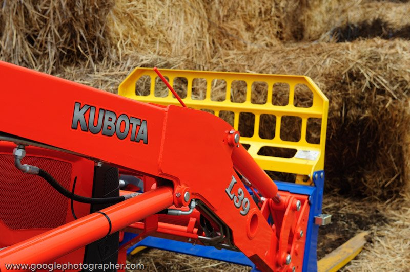 Kubota Haystacker Product Photography