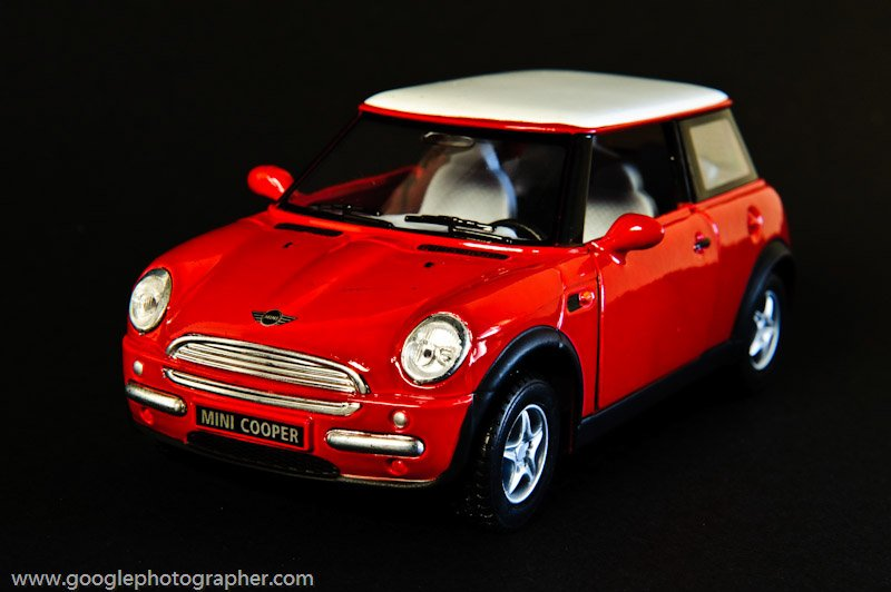 Mini Cooper Product Photography