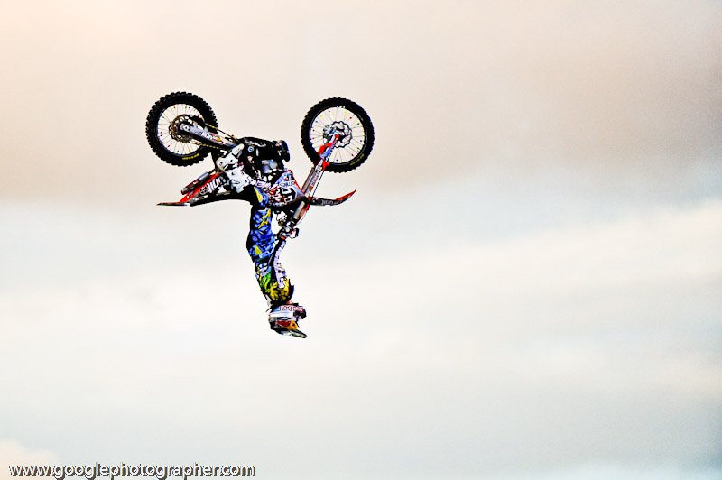 Upside Down Redbulll X-Fighters Action Photography