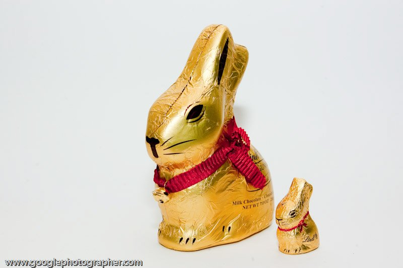 Chocolate Easter Bunny Product Photography