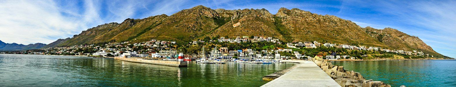 Gordonsbay Harbour Panoramic Photography