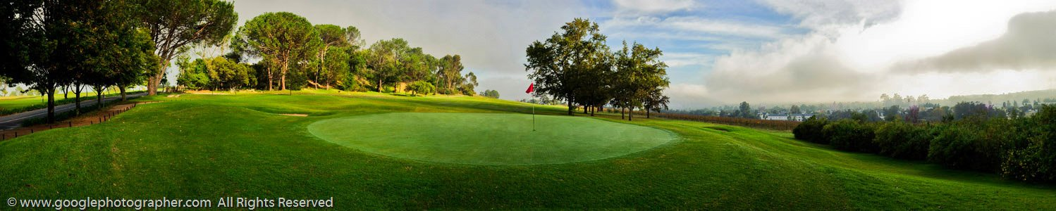 Golf Pitch Panoramic Photography