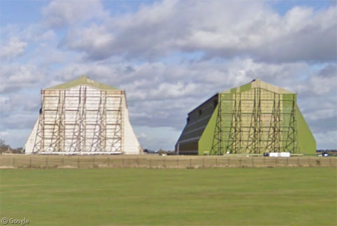 Airship Hangars Around The World     Google Sightseeing Airship Hangar
