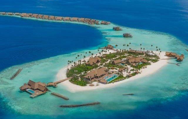 مالدیپ پر آپ کا ذاتی جزیرہ، 24 گھنٹے کا کرایہ 80 ہزار ڈالر
