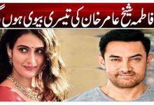 کیا فاطمہ شیخ عامر خان کی تیسری بیوی ہوں گی؟
