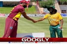 ورلڈ کپویسٹ انڈیز کی جنوبی افریقہ کیخلاف بیٹنگ جاری