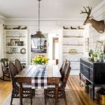 30 Best Farmhouse Table Dining Room Decor Ideas (26)
