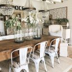 30 Best Farmhouse Table Dining Room Decor Ideas (6)