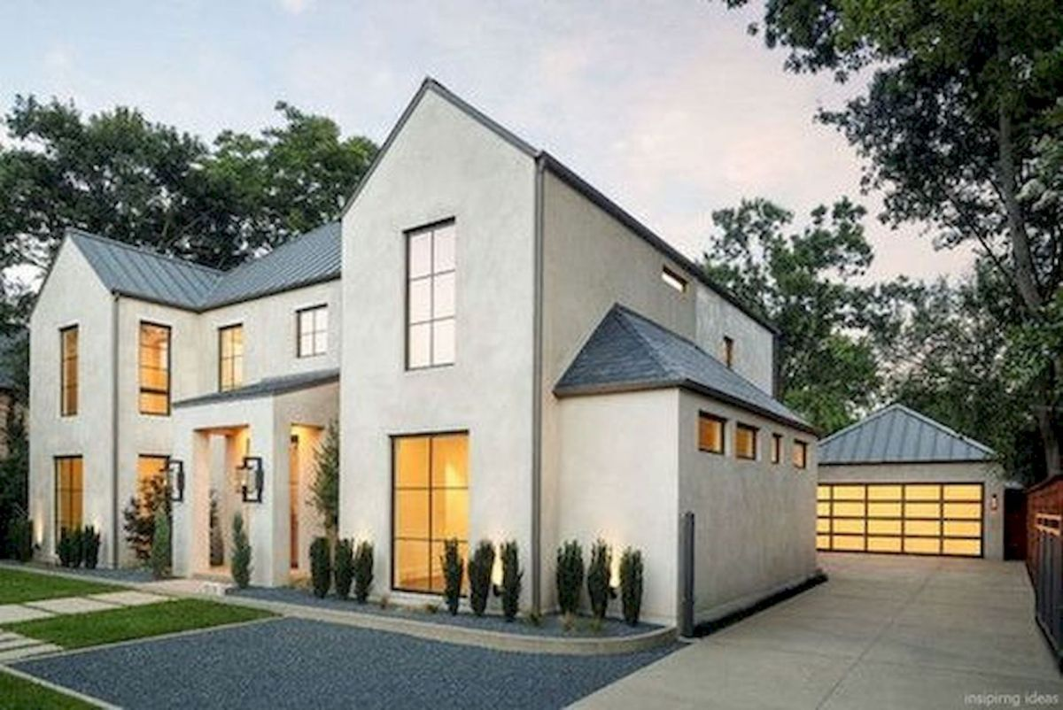 33 Best Modern Farmhouse Exterior House Plans Design Ideas Trend In 2019 (18)