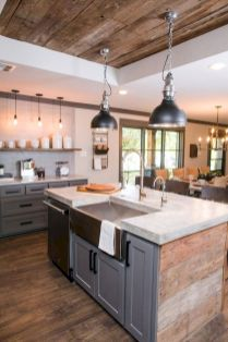 40 Best Modern Farmhouse Kitchen Decor Ideas And Design Trend In 2019 (17)