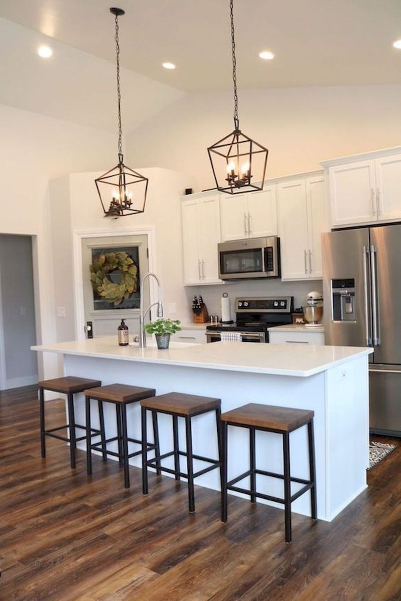 40 Best Modern Farmhouse Kitchen Decor Ideas And Design Trend In 2019 (18)