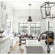 40 Best Modern Farmhouse Kitchen Decor Ideas And Design Trend In 2019 (7)