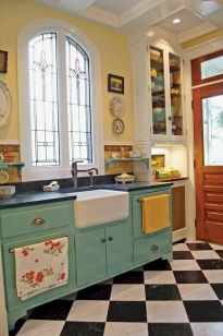 44 Best Farmhouse Kitchen Cabinets Design Ideas And Decor (36)