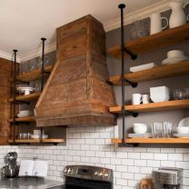 50 Awesome Industrial Farmhouse Design Ideas to Complement Your Home In 2019 (34)
