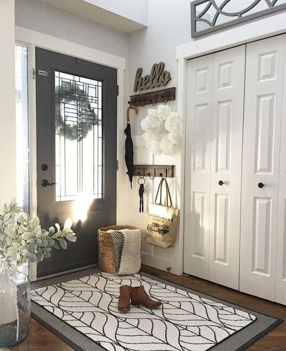 50 Best Farmhouse Entryway Design Ideas You Must Try In 2019 (13)