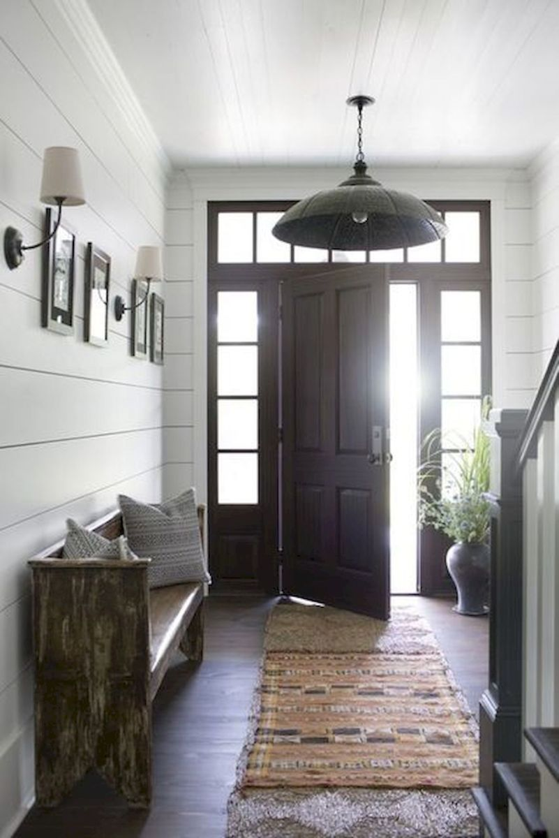 50 Best Farmhouse Entryway Design Ideas You Must Try In 2019 (3)