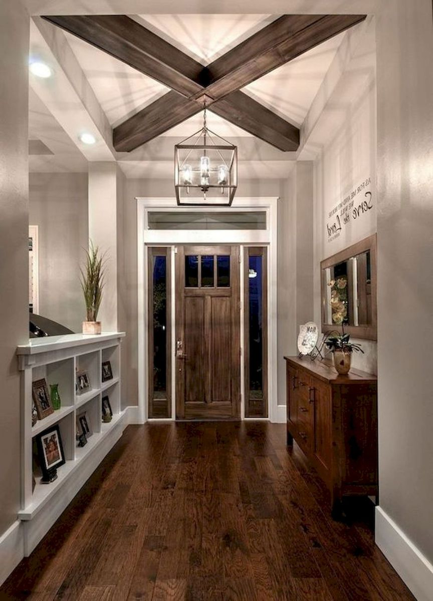 50 Best Farmhouse Entryway Design Ideas You Must Try In 2019 (9)