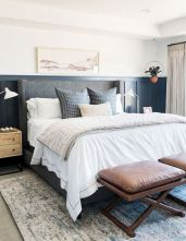 50 Modern Farmhouse Bedroom Decor Ideas Makes You Dream Beautiful In 2019 (40)