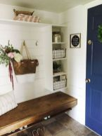 50 Stunning Farmhouse Mudroom Decor Ideas And Remodel (22)