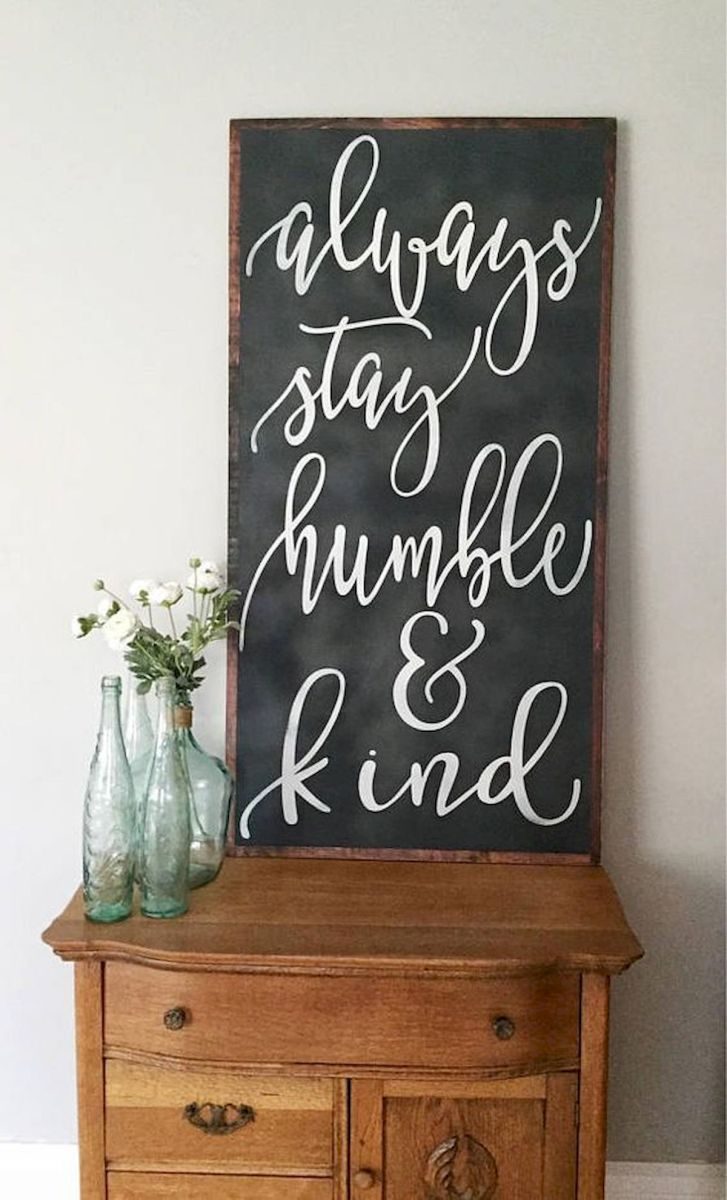 55 Awesome Farmhouse Signs Design Ideas And Decor (31)