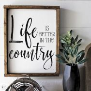 55 Awesome Farmhouse Signs Design Ideas And Decor (49)