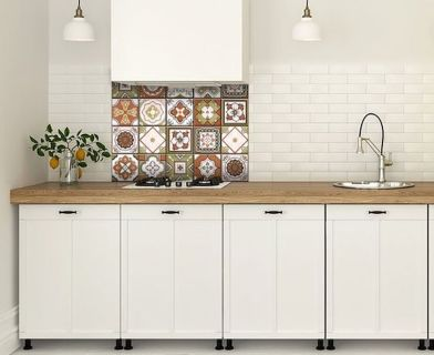 55 Fantastic Farmhouse Kitchen Backsplash Design Ideas And Decor (26)