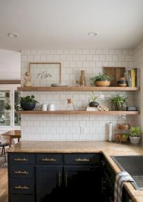 55 Fantastic Farmhouse Kitchen Backsplash Design Ideas And Decor (52)