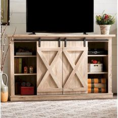 60 Beautiful Farmhouse TV Stand Design Ideas And Decor (59)