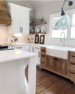 60 Great Farmhouse Kitchen Countertops Design Ideas And Decor (18)