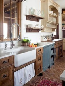 60 Great Farmhouse Kitchen Countertops Design Ideas And Decor (38)