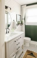 66 Adorable Farmhouse Bathroom Decor Ideas And Remodel (23)