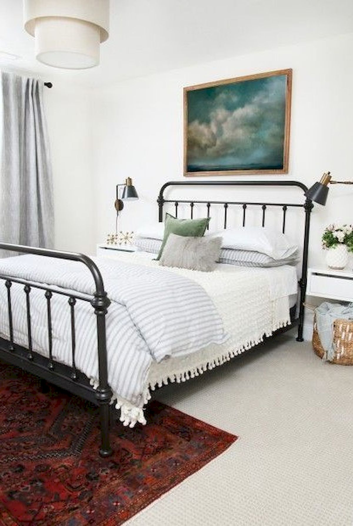 69 Best Farmhouse Bedding Decor Ideas And Remodel 16 ...