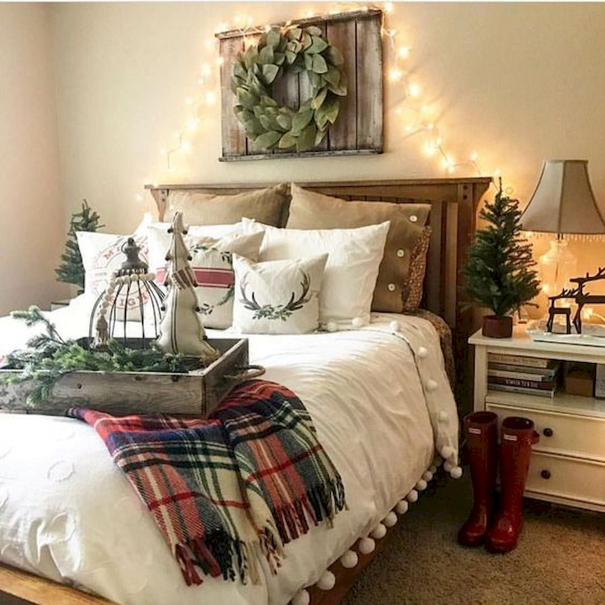 69 Best Farmhouse Bedding Decor Ideas And Remodel (20)
