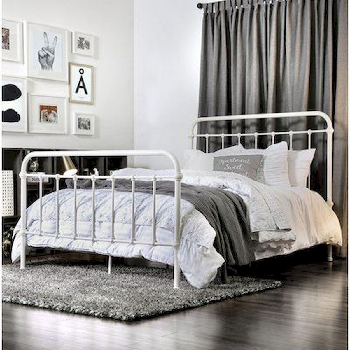 69 Best Farmhouse Bedding Decor Ideas And Remodel (53)