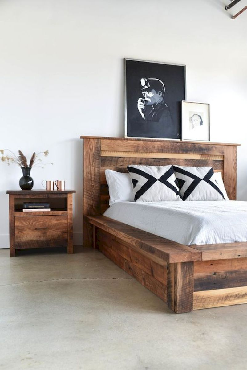 69 Best Farmhouse Bedding Decor Ideas And Remodel (64)
