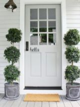 70 Beautiful Farmhouse Front Door Design Ideas And Decor (45)