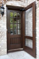 70 Beautiful Farmhouse Front Door Design Ideas And Decor (57)