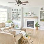 70 Best Farmhouse Living Room Decor Ideas And Remodel (15)