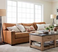 70 Best Farmhouse Living Room Decor Ideas And Remodel (23)