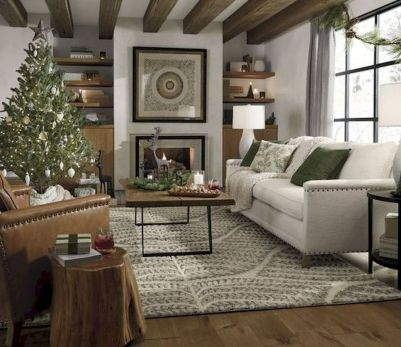 70 Best Farmhouse Living Room Decor Ideas And Remodel (26)