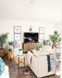 70 Best Farmhouse Living Room Decor Ideas And Remodel (31)