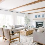 70 Best Farmhouse Living Room Decor Ideas And Remodel (69)