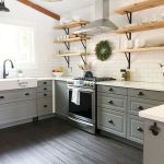 77 Best Farmhouse Kitchen Decor Ideas And Remodel (28)