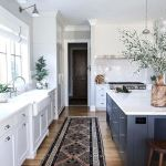 77 Best Farmhouse Kitchen Decor Ideas And Remodel (30)