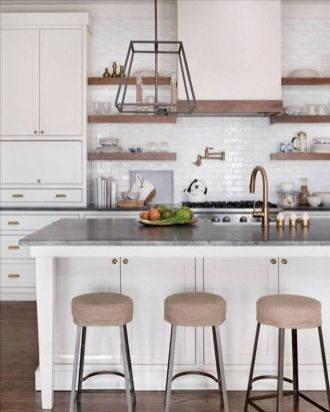 77 Best Farmhouse Kitchen Decor Ideas And Remodel (40)