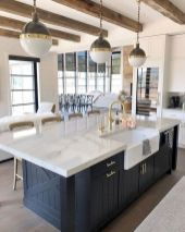 77 Best Farmhouse Kitchen Decor Ideas And Remodel (53)