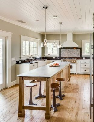 77 Best Farmhouse Kitchen Decor Ideas And Remodel (73)